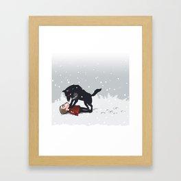 snowtime Framed Art Print
