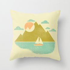 Lost Lake Throw Pillow