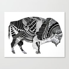 BISONTE Canvas Print