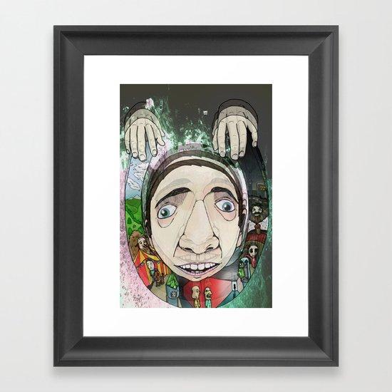 Creepy Framed Art Print