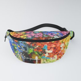 Bouquet of wild flowers Fanny Pack