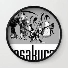 Asakura Wall Clock