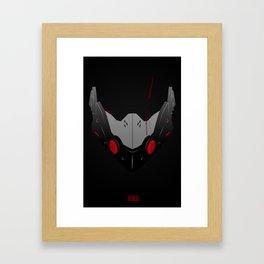 Jetstream Mask Framed Art Print