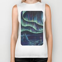 night sky Biker Tanks featuring Night Sky by Jolene Mackie