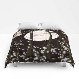 A SNOWY OWL NIGHT  Comforters