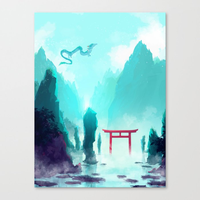 Spirited Away Canvas Print By Seerstuff Society6