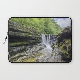 Four falls walk waterfall 1 Laptop Sleeve