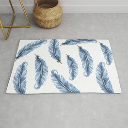 Magical Feather Rug