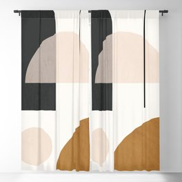 Abstract Geometric 55 Blackout Curtain