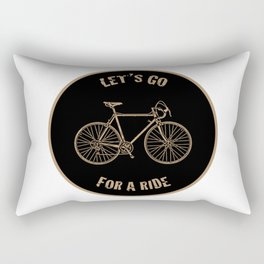 Let's Go For A Ride Rectangular Pillow