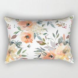 Peachy Keen Pattern Rectangular Pillow