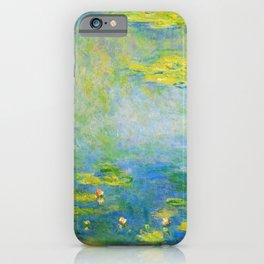 Waterlilies, 1906 - Claude Monet iPhone Case