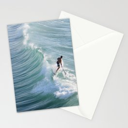 Paddleboarding in California Stationery Cards