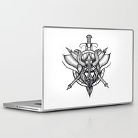 viking Laptop & iPad Skins featuring Viking by Liz Guhl @lizaguhl