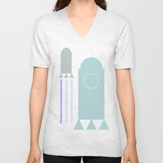 rakete 1 Unisex V-Neck