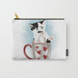 Kitty Cup Carry-All Pouch