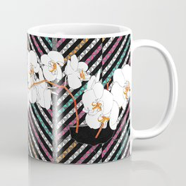 Breaking Patterns (color variation: red accents) Coffee Mug