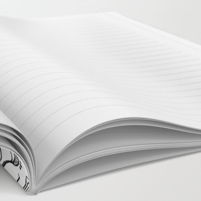 Thrive - Monochrome Mandala Notebook
