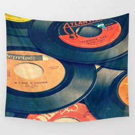 Take those old records off the shelf Wall Tapestry