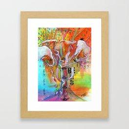 Elephant Song Framed Art Print
