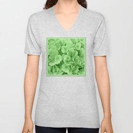 Flowers | Flower | Hydrangea Greenery | Floral | Nadia Bonello Unisex V-Neck