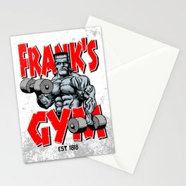Frank's Gym Stationery Cards