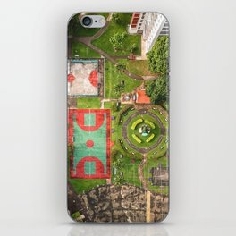 Singapore aerial drone iPhone Skin