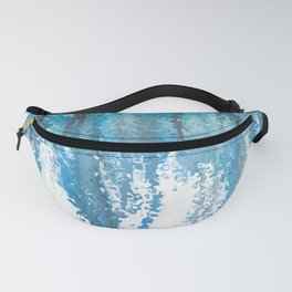 Watercolor trickle effect Fanny Pack