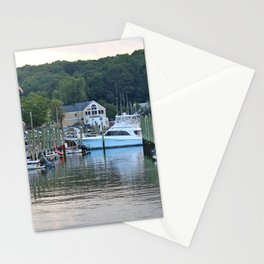 Marinas Of The World (Pt. 3 - Port Jefferson, New York) Stationery Cards