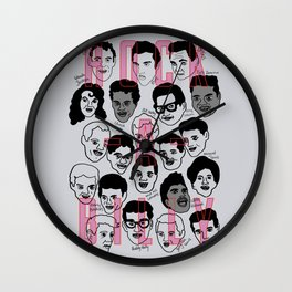 Rock-a-billy Wall Clock