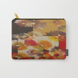 Fall Blossom Query Carry-All Pouch