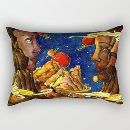 Mountain lovers Rectangular Pillow