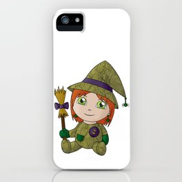 Little Witch Doll iPhone Case