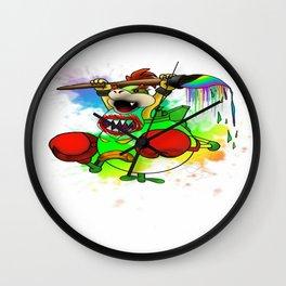 Bowser Jr. Wall Clock