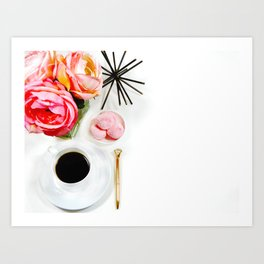 Hues of Design - 1030 Art Print