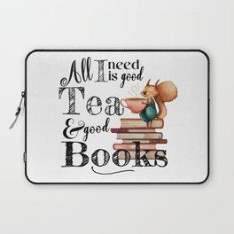 Tea & Books Laptop Sleeve