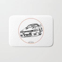 Crazy Car Art 0012 Bath Mat