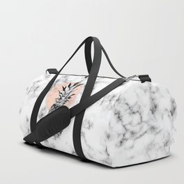 Marble Pineapple 053 Duffle Bag