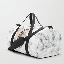 Marble Pineapple 053 Duffle Bag