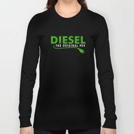 Funny Diesel Diesel Original PEV Plugin Electric Vehicle Plug Long Sleeve T-shirt