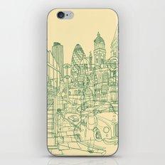 London! Cream iPhone & iPod Skin