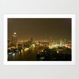 Chao Phraya Art Print