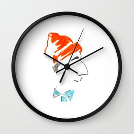 Jacques-Yves Cousteau Wall Clock