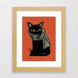 Scarf Framed Art Print