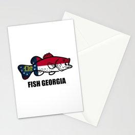 Fish Georgia Stationery Cards