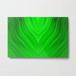 stripes wave pattern 3 de Metal Print