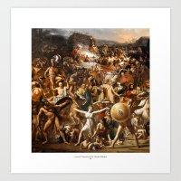 Azione E Reazione Di Un Mondo Distopico Art Print
