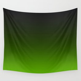 Ombre Lemon Green Wall Tapestry