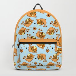 Clown Tiger Snail Backpack