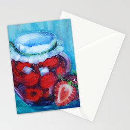 Jam jar Stationery Cards